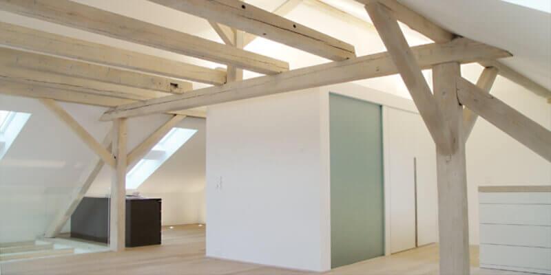 Innenausbau eines Dachstock