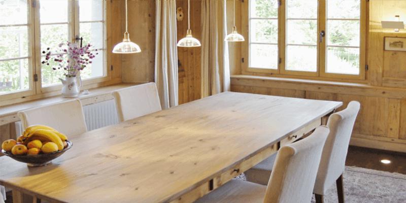 Umbau des Wohn- und Essbereichs des älteren Landhauses
