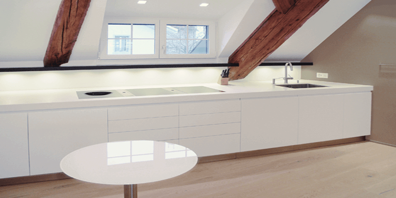 Dimensons 36 Kaelin Design AG, Innenarchitektur Innenausbau eines Dachstocks