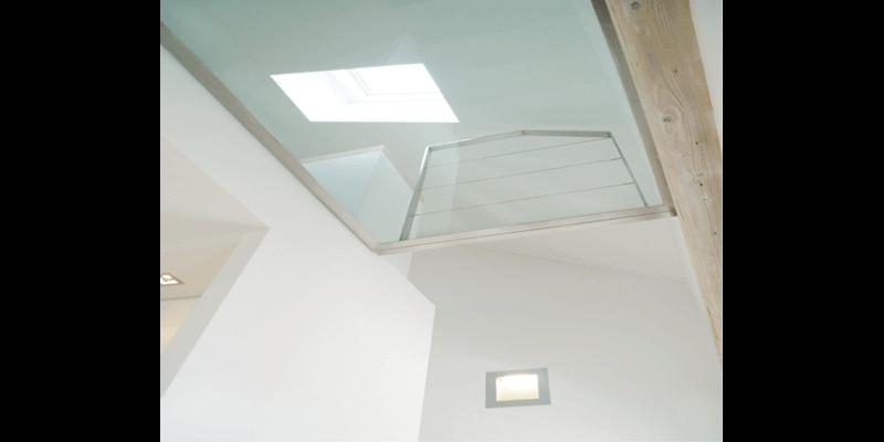 Umbau eines Dachstocks zu einem Loft