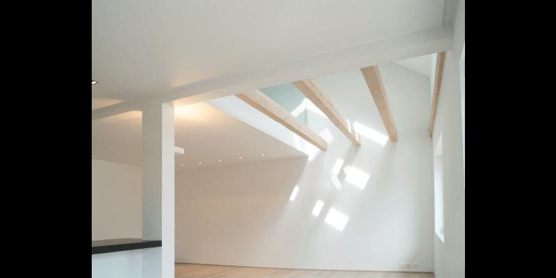 Innenausbau eines Dachstocks zu einem Loft